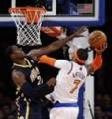Pacers can't finish off Knicks