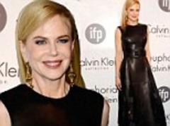 Nicole Kidman transforms into a fashion dominatrix in all leather in Cannes