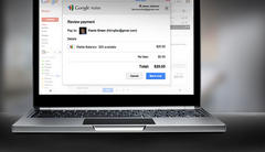 google links wallet to gmail, letting users attach money to emails