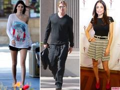 Brad Pitt, Kendall Jenner and Bethenny Frankel Lead Todays Star Sightings