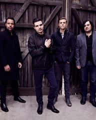the boxer rebellion still in shock that they get to support the rolling stones