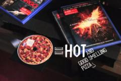 the latest domino's pizza marketing stunt: dvds that smell like a pepperoni pie