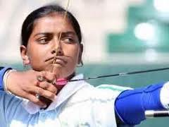 deepika kumari enters recurve women's individual final of archery world cup stage-i competition