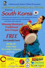 This Weekend: Lakewood International Festival Honors South Korea