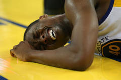 NBA Playoffs: Barnes Knocked Out of Game After Vicious Fall: Warriors-Spurs Final Results