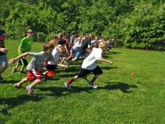 middle schoolers run, raise money to help animals