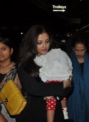 Aishwarya Rai leaves for Cannes Film Fest