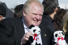 rob ford: 42 remarkable moments from toronto mayor's career