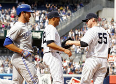 LIVE: Toronto Blue Jays vs. New York Yankees
